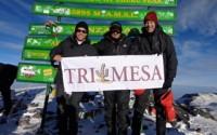 Tri Mesa summits Kilimanjaro !