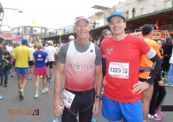 Mike and Ron's Race Report – marathon in Tiberias, Israel