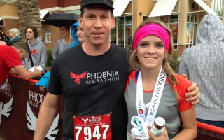 Phoenix Marathon 2014 – great day (rainy!) and great race!